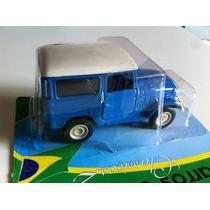 Miniatura Carros Do Brasil 2-toyota Bandeirante 79