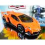 Hot Wheels Lamborghini Veneno Fe Laranja 37/2014 Lacrada
