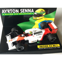 Minichamps 1/43 Mclaren Mp4/4 Honda Turbo F1 Senna Asc1 1988