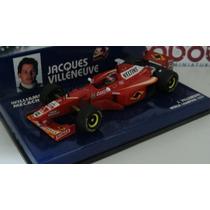 1:43 Minichamps Williams Fw20 World Champion 97 Villeneuve