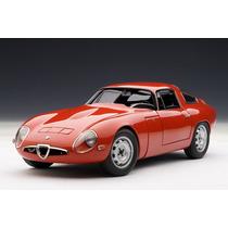 Alfa Romeo 1963 Giulia Autoart 1:18 Vermelho 70196
