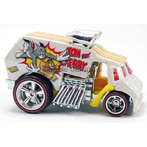 Carro Hot Wheels Cultura Pop Carro Customizado Tom E Jerry