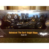 Batmovel Tumbler Dark Knight Controle Remoto 1:18 - Candide