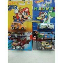Hot Wheels Mario Bros - Set Completo - 2015 - Lacrado