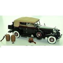 Miniatura Cadillac V 16 1932 Eliot Ness Franklin Mint 1/24