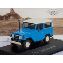 Miniatura Toyota Bandeirante Carros Inesquecíveis Brasil