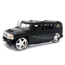 Hummer H2 Jada Toys 1:24 90403-preto