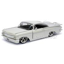 Chevy Impala 1959 Jada Toys 1:24 90630-branco