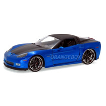 Chevy Corvette 2006 Z06 Jada Toys 1:24 96804-azul