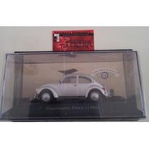 Coleção Carros Inesquecíveis Do Brasil Ww Fusca 1985