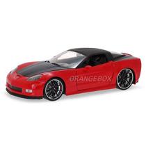 Chevy Corvette 2006 Z06 Jada Toys 1:24 96804-vermelho