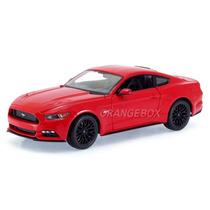Ford Mustang Gt 5.0 2015 Maisto 1:18 31197-118-vermelho