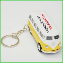 Chaveiro Mini Kombi Volkswagen Latão Uso Coleção Decoração