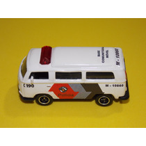 Viatura Pmsp Vw Kombi T2. Única Do Ml. Matchbox Kombi 1.64.