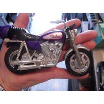 Antiga Moto Harley Davidson Matchbox A Corda Unica No Ml