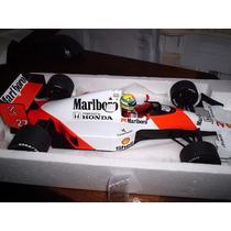 Miniatura Senna Mclaren Mp 4-5b Campeão F1 Minichamps 1:18
