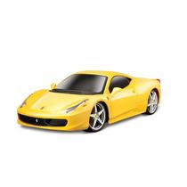 Kit Para Montar Ferrari 458 Itália 1:24 Amarelo Maisto