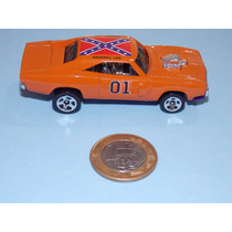 General Lee Custom. Único Do Ml. Hot Wheels Charger 1.64.