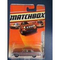 69 Cadillac Sedan Deville - Matchbox - 1:75 - Loose - Rosa