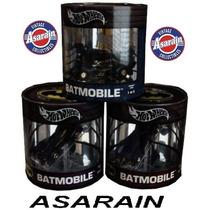 Set Batman Batmóvel 100% Hot Wheels Oil Can - 1/64
