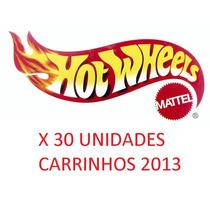 Caixa Com 30 Miniaturas Hot Wheels 2013