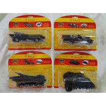 Batmóvel Série Completa 4 Carrinhos Shell 2012