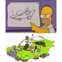 Hot Wheels - The Homer - Carro Dos Simpsons