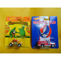 Hot Wheels Lote De 2 Grateful Dead Pneus De Borracha 1,64