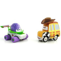 Buzz & Woody Movie Moments Cars Disney Pixar Raro Toy Story