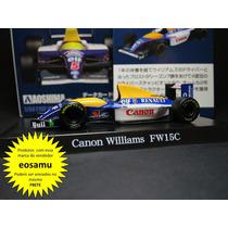 Williams Renault F1 Fw15c Damon Hill 1993 Formula 1 Esc1/64