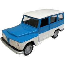 Miniatura Metal Rura Willys - Classicos Nacionais 2