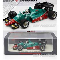 1/43 Spark Alfa Romeo Turbo Ricardo Patrese Monza F1 1984