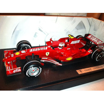 1/18 Hot Wheels F1 Ferrari F2007 Kimi Raikkonen W C 2007