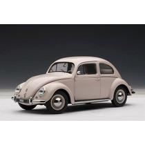 Volkswagen Fusca 1955 Autoart 1:18 Bege 79778