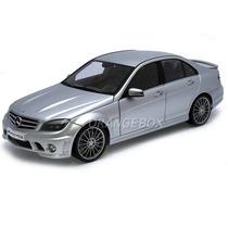 Mercedes Bens C63 Amg Autoart 1:18 Prata 76269