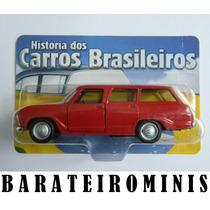 1:43 Chevrolet Veraneio 1968 - Carros Brasileiros
