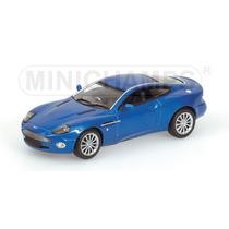 Aston Martin Vanquish - 2002 - Blue Metallic Minichamps/143