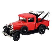 Miniatura Ford Model A 1931 Tow Truck 1:18 Yatming Signature
