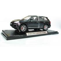 Porsche Cayenne Turbo Preto Metálico, Mondo Motors 1:18,
