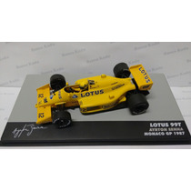 Lendas Brasileiras 02 Lotus 99t Ayrton Senna Gp 1987 Monaco