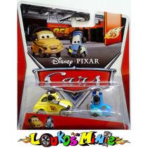 Disney Cars Luigi & Guido With Headsets Lacrado Orig.mattel