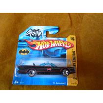 Hot Wheels - Miniatura - Batmovel - Batmobile - Tv - Nº 43