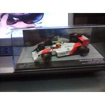 Miniatura Lendas Brasileiras Do Automobilismo Mclaren Senna