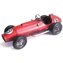 Ferrari F1 Tipo 375 - Vintage Retrô - Decoração - 32 Cm