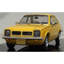 Miniatura Chevrolet Chevette Sl 1979 Amarelo 1:43 Ixo