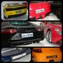 10 Pares Placas Miniatura 1/18 Bmw Jetta Santana Ferrari