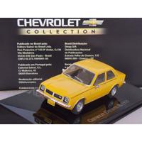 Miniatura Chevrolet Chevette Sl Bicudo 1979 1/43 + Revista