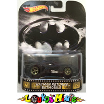 Hot Wheels Batman Returns Batmobile Retro Lacrado 1:64