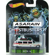 Ecto 1a Ghostbusters Caça Fantasmas Retro Hot Wheels - 1/64