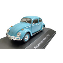 Miniatura Vw Fusca 1961carros Inesquecíveis Brasil + Brinde